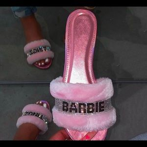 Shoes - Barbie Slippers